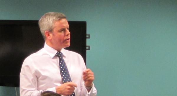 David Fraser speaking